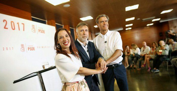 Así se vivió el debate entre los tres candidatos a liderar el PSOE canario
