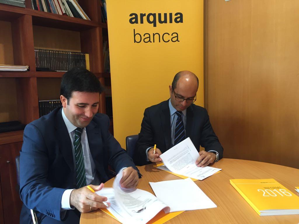 Arquia banca apuesta por los j venes empresarios de tenerife for Convenio oficinas y despachos tenerife