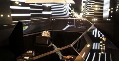 audi simulador de coche conducción autónoma sin volante