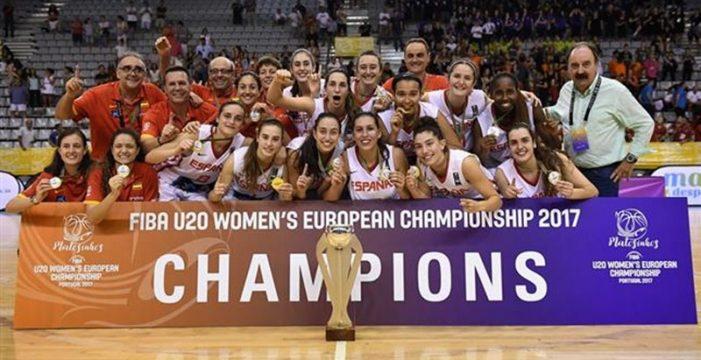 España se proclama campeona en el Eurobasket Sub-20 femenino