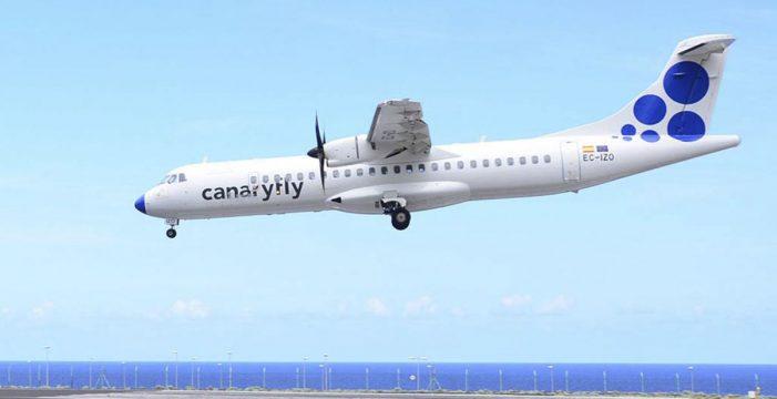 El Hierro celebra la llegada de Canaryfly, con vuelos diarios a Tenerife