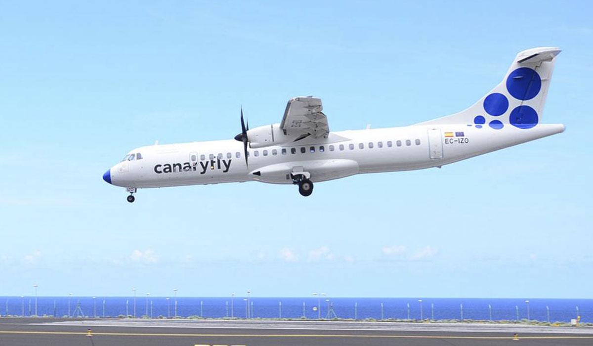 Avión de CanaryFly. | CANARYFLY