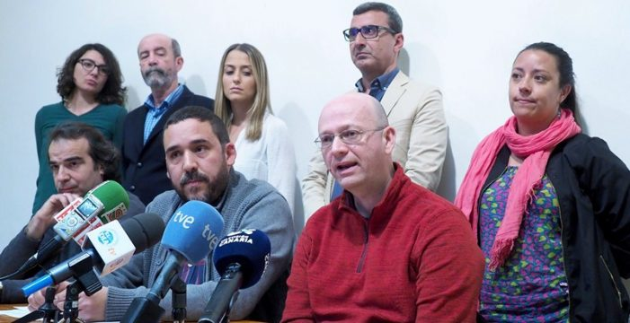"""""""El dictamen de la Comisión  de Grúas prueba su amaño para exonerar a Clavijo y Díaz"""""""