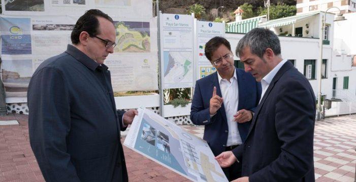 Cumbre en Icod entre el Gobierno regional, el Cabildo y el Ayuntamiento