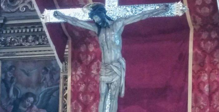 El Cristo de La Laguna ya se encuentra en su nuevo hogar