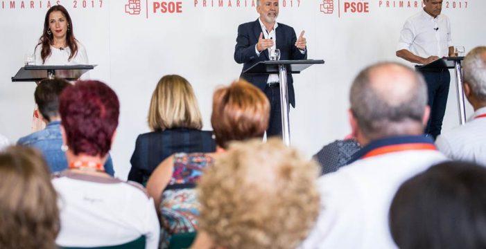 Los tres aspirantes a liderar el PSOE  prometen no más pactos en cascada