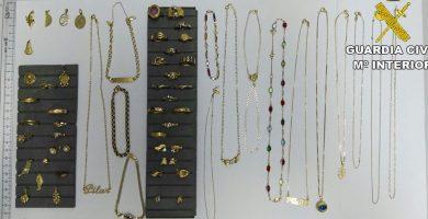 Detienen a una persona por robar joyas valoradas en 6.000 euros en Fuerteventura