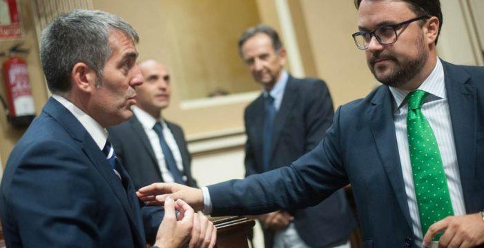 Clavijo se reúne hoy con Rajoy, el PP canario le avisa de que no le servirá
