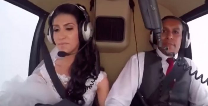 Los últimos minutos de terror de la novia fallecida en helicóptero cuando iba a su boda