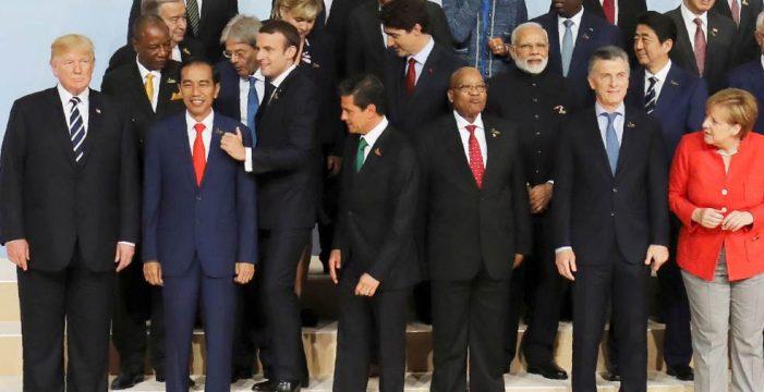 Los líderes del G20 acuerdan la declaración sobre clima y comercio