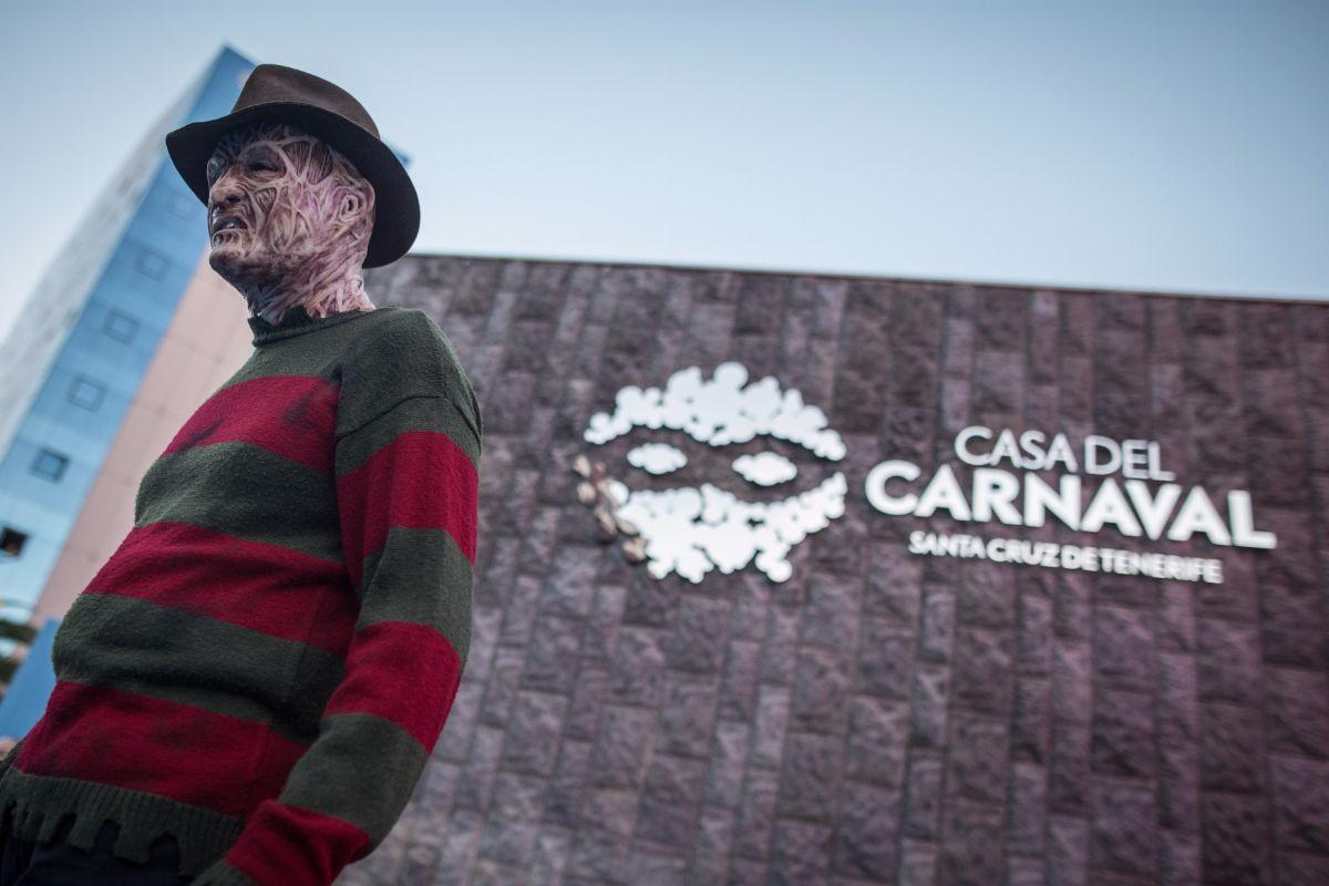 La inauguración contó con personajes como el de Freddy Krueger. A. G.