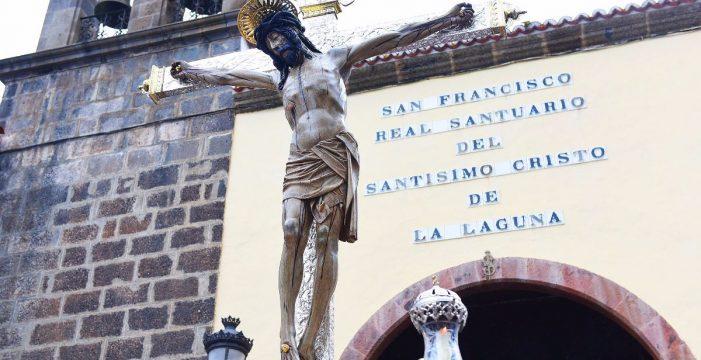 El Cristo de La Laguna, en su nuevo hogar