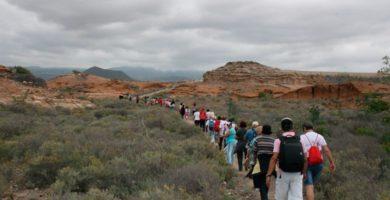 El camino es transitado cada año por miles de peregrinos. DA
