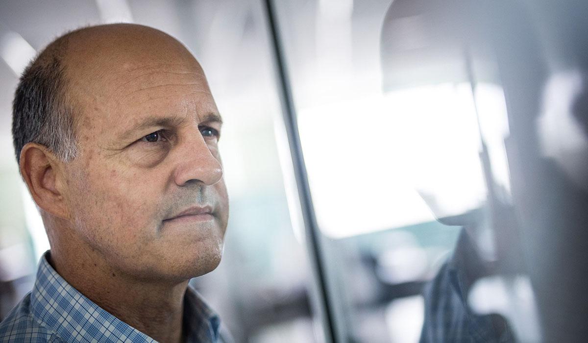 Emilio Cuevas, director del Centro de Investigación Atmosférica de Izaña. Andrés Gutiérrez