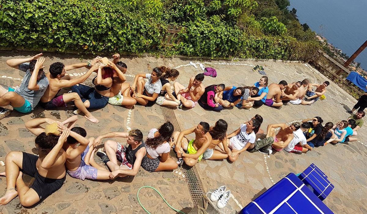 La edición de este año de Empápate se clausuró en El Sauzal, donde se realizaron múltiples actividades con los jóvenes participantes. DA