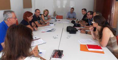 Última reunión de la Comisión escolar de Seguridad celebrada en Arona. DA