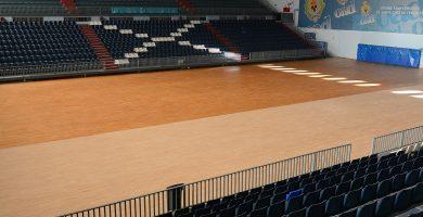 Las instalaciones del pabellón Quico Cabrera están obsoletas para acoger este evento mundial. Sergio Méndez