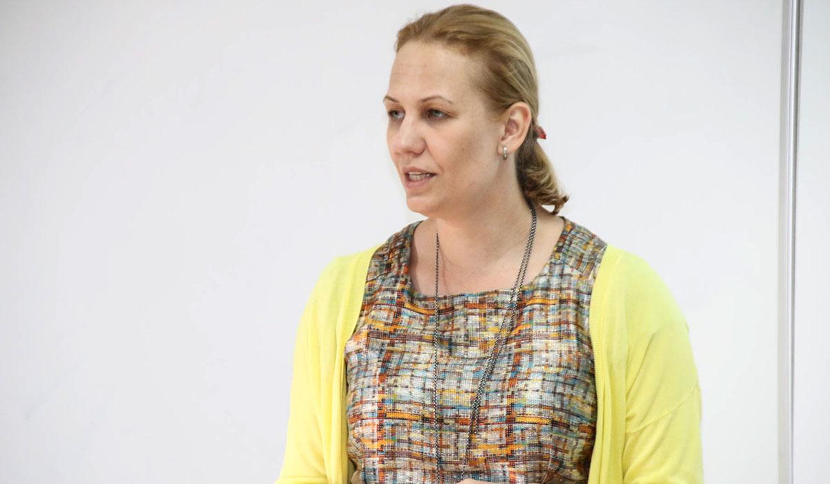 Alicja Jagielska-Burduk, experta en legislación para la protección del patrimonio cultural. DA