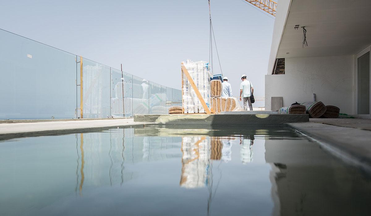 El hotel dispondrá de 603 habitaciones repartidas en dos edificios, uno para el turismo familiar y otro solo para adultos. Andrés Gutiérrez