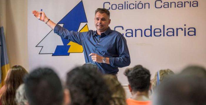 Carlos Sabina, nuevo líder de Coalición Canaria en Candelaria