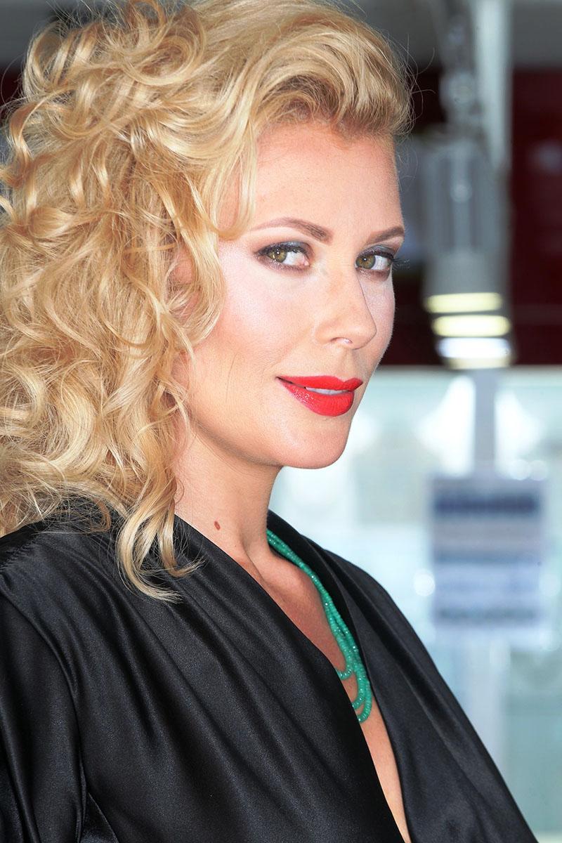 Ekaterina Krasnevskaya, la Dama Tropicana elegida hace un mes. Gerard Zenou