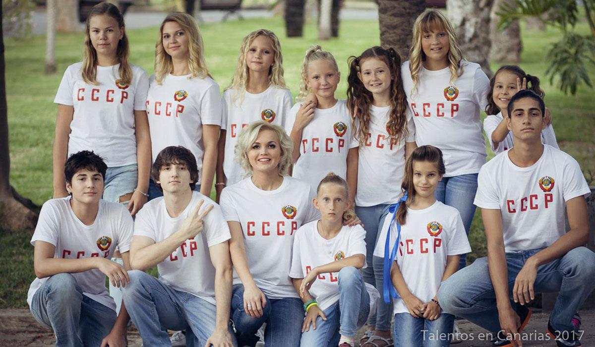 Jóvenes miembros del club CCCP Tenerife. Alexey Astakhov