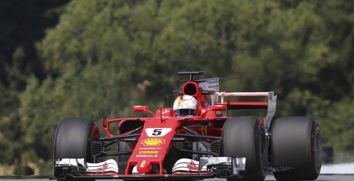 'Pole' para Vettel en Hungría; Alonso, séptimo y Sainz, noveno