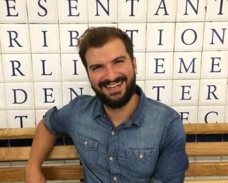 Pablo Fajardo ganador del concurso literario 'Nuevas Escrituras Canarias'