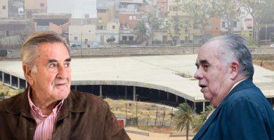 Los exalcaldes Hermoso y García Gómez, contra la demolición del mamotreto
