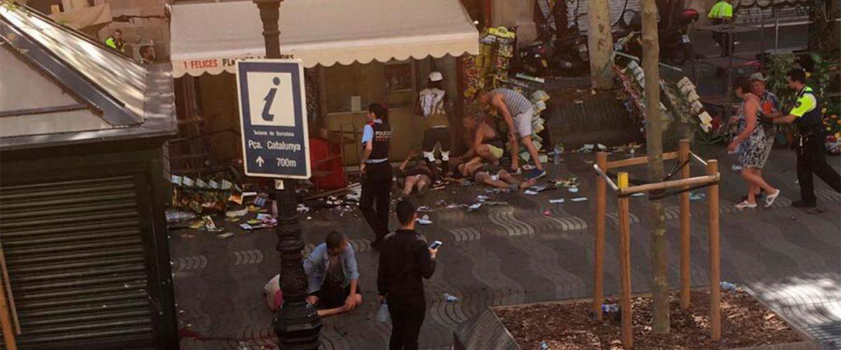 Al menos 13 muertos en el atentado terrorista de Barcelona