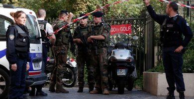 """Al menos seis militares heridos en París tras ser atropellados en un """"acto deliberado"""""""