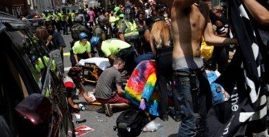 Las emergencias atienden a uno de los peatones atropellados | El Español/Reuters