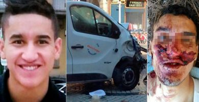 La corta vida del terrorista de Barcelona