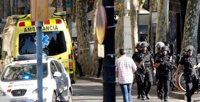 Fotogalería: el atentado terrorista en Las Ramblas, en imágenes