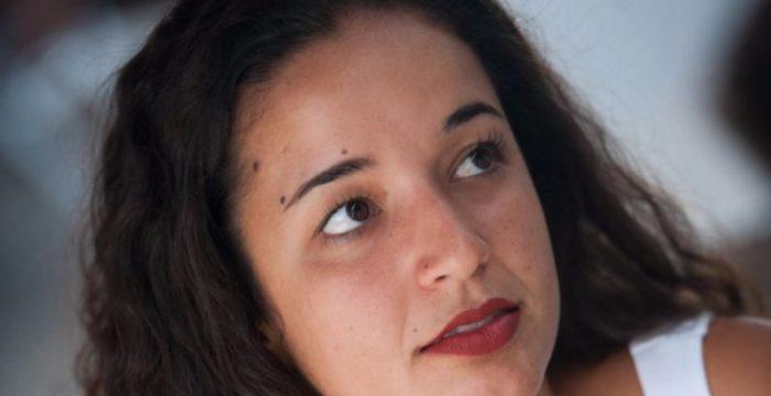 Carmen Pestano, la estudiante portuense que participó en el debate Hillary-Trump