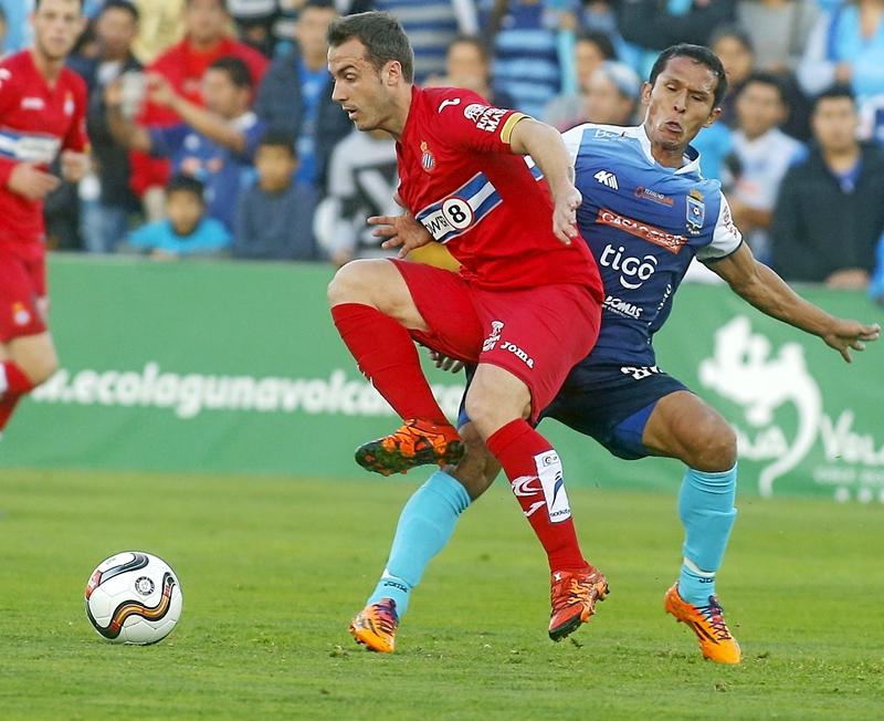 El castellonense puso punto y final a su andadura en el Espanyol. F. A.