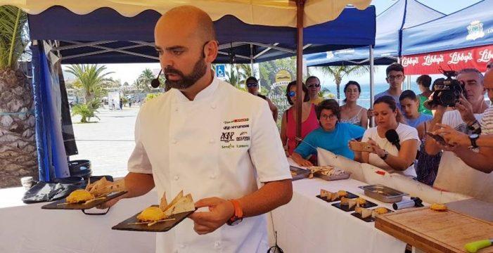 Serafín Romero gana el IX Encuentro Regional de Cocineros Canarios