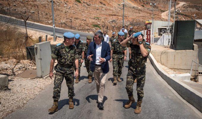 """Clavijo en Líbano: """"Gracias por el sacrificio por algo tan bonito que es mantener la paz"""""""