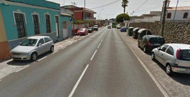Imagen general de la calle San Francisco de Paula en La Laguna. Google Earth