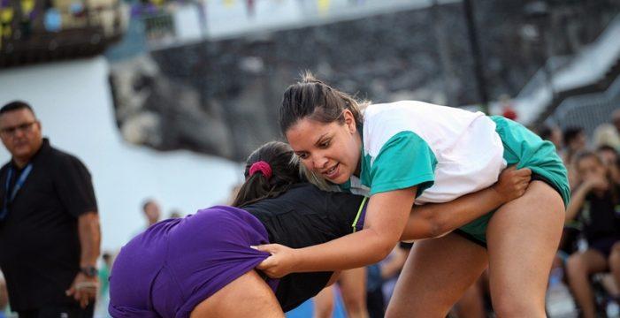 La lucha canaria cobrará protagonismo en la Feria Internacional de la Moda de Tenerife