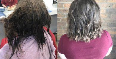 Una peluquera se niega a rapar el pelo a una adolescente y le devuelve la sonrisa