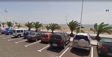 Playa de Guacimeta, en el San Bartolomé, Lanzarote