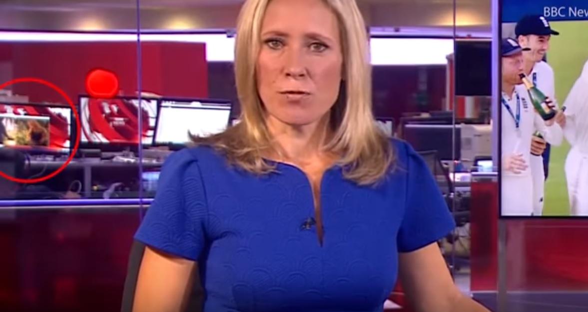 Porno en un telediario de la BBC