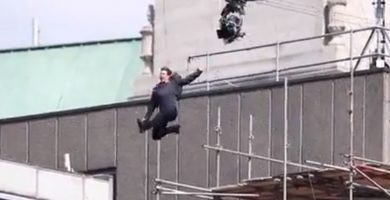 El accidente de Tom Cruise durante el rodaje de Misión Imposible