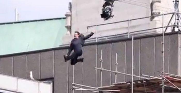 El accidente de Tom Cruise durante el rodaje de Misión Imposible