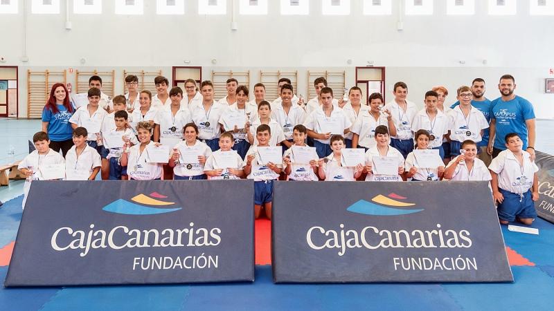 VIII Campus de Lucha Canaria Fundacion CajaCanarias (1)