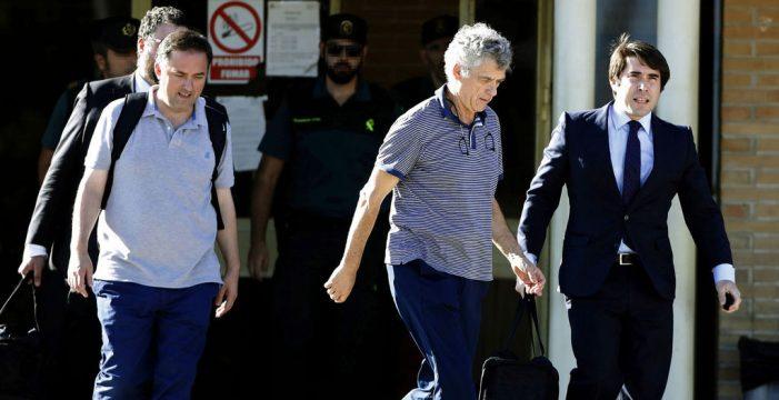 Villar y su hijo abandonan la prisión de Soto del Real; Padrón, a la espera