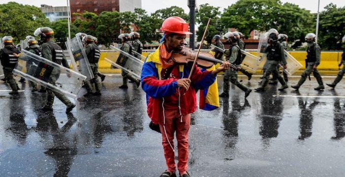 Liberado el violinista Wuilly Arteaga, uno de los rostros más populares de la oposición venezolana