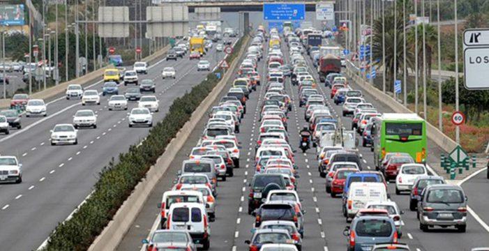 El acceso al Coromoto-San Benito se cortará mañana por la noche por la autopista TF-5