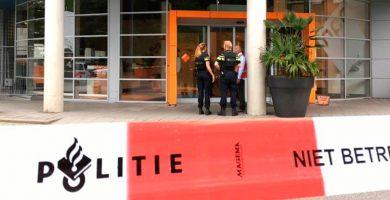Detenido un hombre tras asaltar con un cuchillo la sede de la radio holandesa 3FM